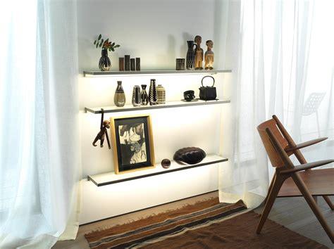 Living Room Glass Corner Shelves by 15 Living Room Glass Shelves Shelf Ideas