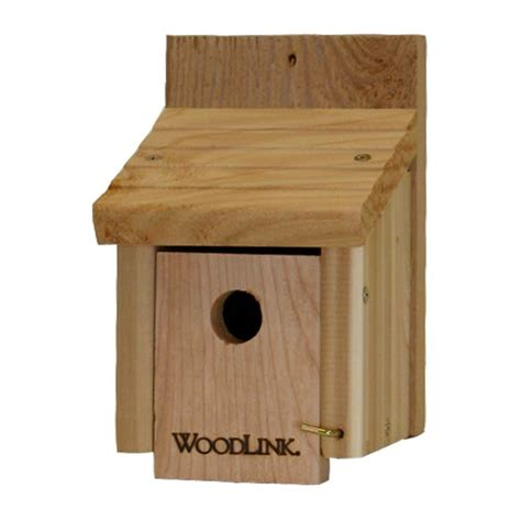 woodlink cedar wren bird house wren1 the home depot