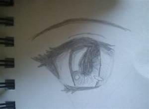 Anime eye Sketch by crazytabbix on DeviantArt