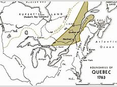 America Map 1763 Fort Quebec North 6