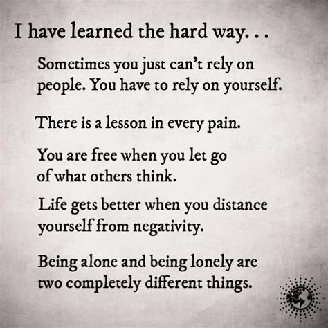 learned  hard