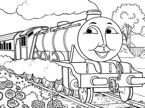 Kleurplaat Gordon De Trein by The Tank Engine Coloring Pages Gordon 183 The
