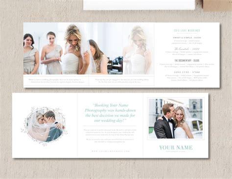 Accordion Brochure Templates Designtube Creative Wedding Photographers Pricing Brochure Design Template