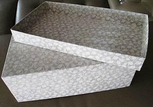 Objet En Carton Facile A Faire : jolie boite de rangement patine production bricolage a faire diy box cardboard crafts et diy ~ Melissatoandfro.com Idées de Décoration