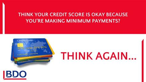 Ppt  Think Your Credit Score Is Okay Because You're