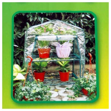 mini serre de jardin  etageres