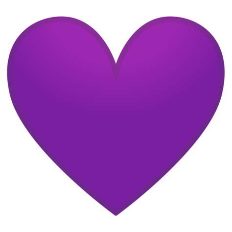 coracao roxo emoji