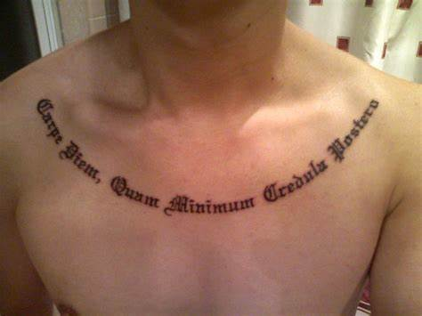 Ugly Words As Always 12 inspiring latin quote tattoos you should see
