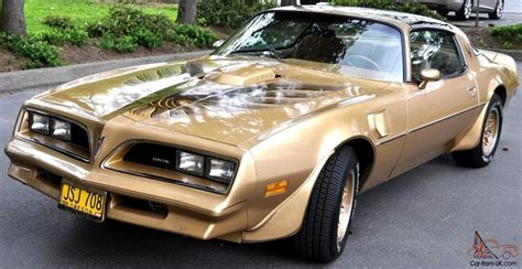 Trans Am Special Edition by 1978 Pontiac Trans Am Y88 Gold Special Edition 4 Speed