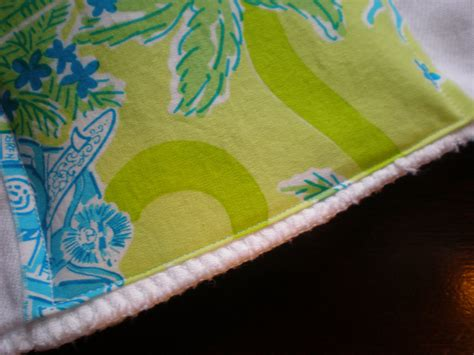 Preppy Pink Crocodile Tutorial How To Make A Baby Burp Cloth