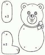 Puppet Coloring Bear Preschool Puppets Paper Bag Teachers Parents Lot Preschoolactivities Printable Crafts Worksheets Visit Kindergarten Toddler sketch template