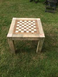 outdoor chess table Outdoor chess table | Chess board table | Diy outdoor ...