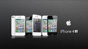 IPhone 4s, Apple Logo, Dark 1920x1080 HD Image Gadgets