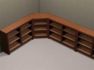 Corner Bookcase Cabinet