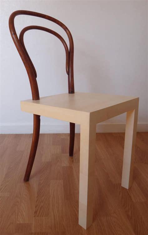 la chaise n 14 hommage à la chaise thonet n 14 par célia persouyre design deco articles esprits libres