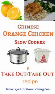 Slow Cooker Copycat Chinese Orange Chicken Recipe