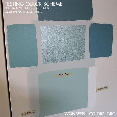 testing benjamin moore paint color stories color me