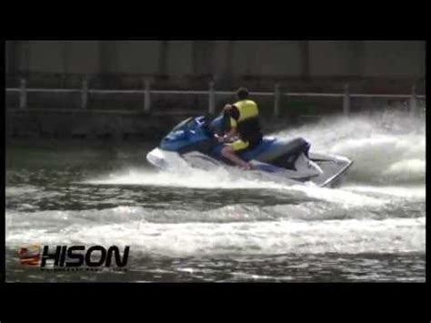 Hison Mini Jet Boat by 2013 Hison Product Testing Jet Ski Jet Surf Mini Jet