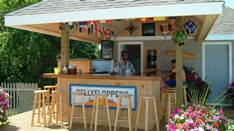 Backyard Tiki Bar by Bellyfloppers Bar Bayside Resort Hotel West Yarmouth Ma