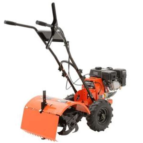 Rototiller Home Depot by Powermate 18 In 196cc 4 Cycle Rear Tine Counter Rotating
