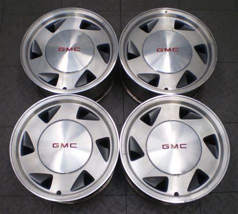 "5029 Gmc Sonoma S15 Jimmy 4x2 15"" Factory Oe Alloy Wheels"