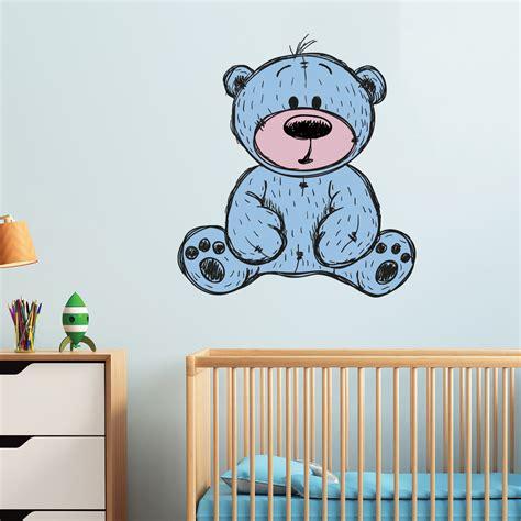 stickers chambre bébé nounours sticker nounours si mignon stickers chambre enfants