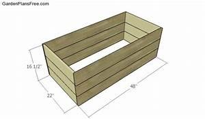 Large Planter Box Plans