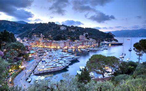 Portofino 4k Wallpapers by Wallpapers 4k Italy Portofino Evening Harbor