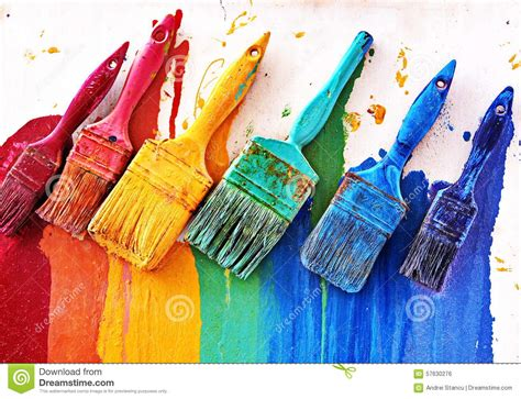 colors for painting choosing colors stock photo image of drawing community