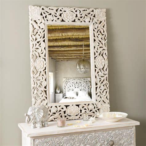 cadre décoration chambre bébé miroir adhika blanchi maisons du monde