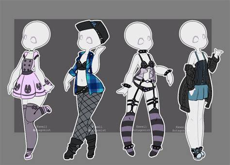 Gacha outfits 15 by kawaii-antagonist.deviantart.com on @DeviantArt | adoptable | Pinterest ...