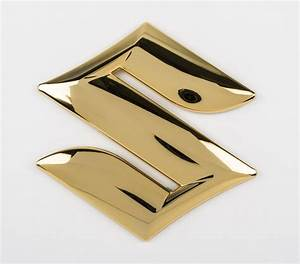 "Genuine Suzuki Swift 2005 Emblem Tailgate ""S"" Gold Logo ..."