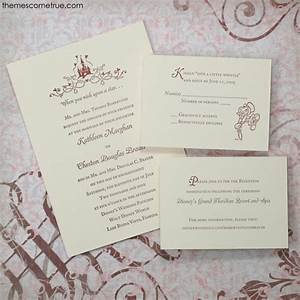 letterpress disney invitation wedding ideas pinterest With disney themed wedding invitations uk