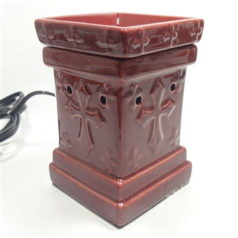 Electric Candle Warmer L by Classic Cross Ceramic Electric Scent Tart L Burner
