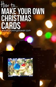 How To Make Your Own Christmas Cards Easy 8 Minute Tutorial