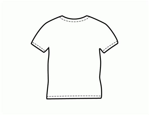 Coloring T Shirt by Blank Football Jersey Coloring Page Coloring Home