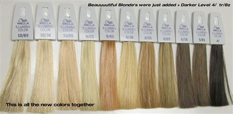 Illumina Hair Color Shades