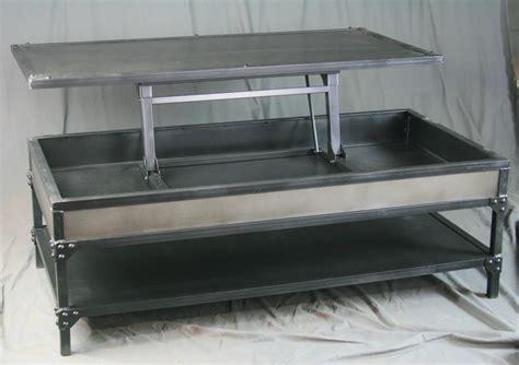 industrial metal coffee table combine 9 industrial furniture vintage industrial
