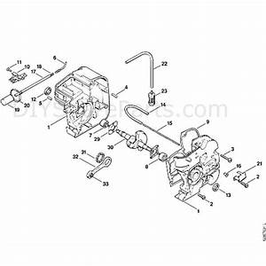 Stihl 011 Chainsaw  011ave  Parts Diagram  A