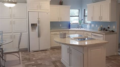 diy kitchen remodel   budget painted white washed