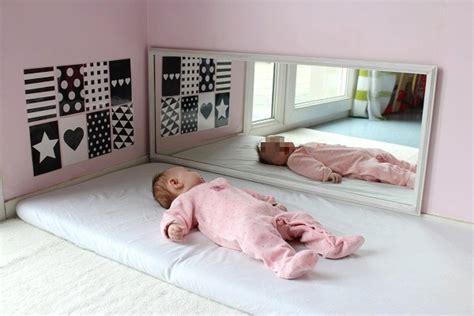 miroir chambre bébé maman nougatine espace et activités d 39 éveil pour bébé 0 3