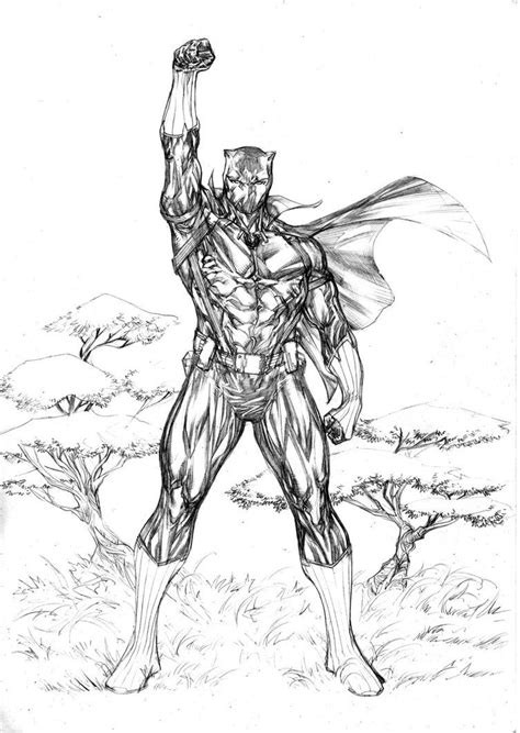 Black Panther conqueror by SpiderGuile on DeviantArt | Cool Comic Artists | Black panther