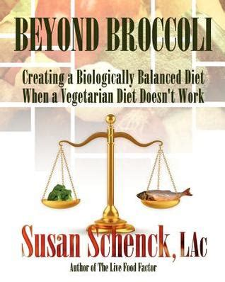 broccoli creating  biologically balanced diet