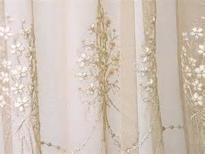 Beautiful curtains assortment embroidered tulle sheer