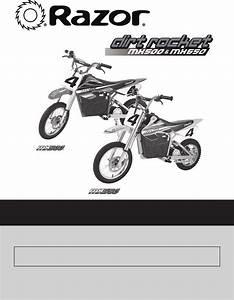 Razor Bicycle Mx500 User Guide