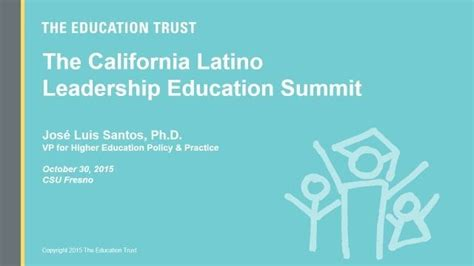 california latino leadership education summit