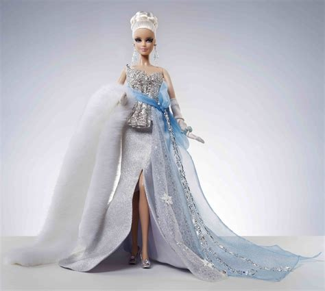charitybuzz winter bliss  frost barbie doll lot