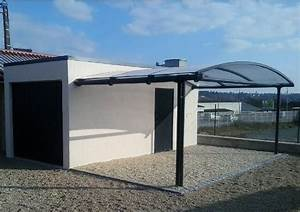 photos de garages en beton construire garagecom With garage toit plat beton