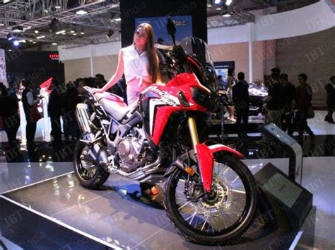 Honda Crf1000l Africa Backgrounds by Auto Expo 2016 Locally Assembled Honda Crf1000l Africa