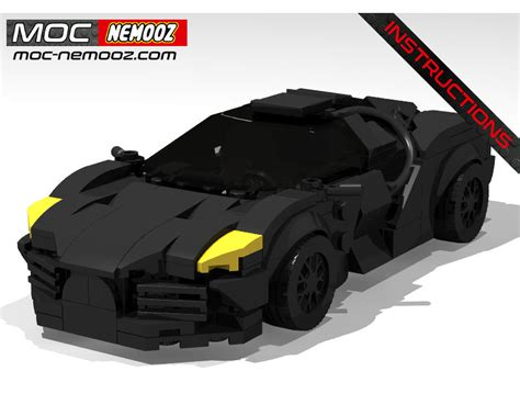Just a few months ago, bugatti and lego teamed up to create a technic kit of the chiron hypercar. LEGO MOC BUGATTI BLACK by MOC NEMOOZ   Rebrickable - Build with LEGO